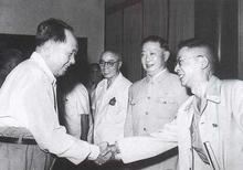 毛泽东会见梅兰芳