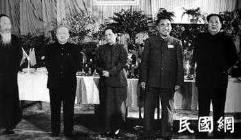 蒋介石当校长,他是副校长,三次反蒋被军统暗杀多年,后成副主席