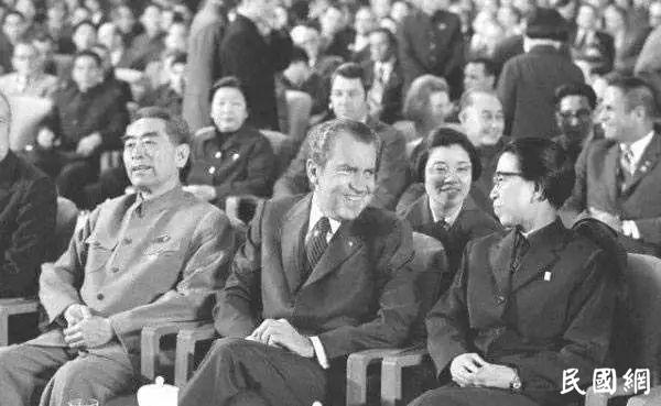 尼克松评说宋美龄与江青:一个雅 一个野