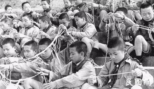 前尘往事:民国童子军,蒋公干得漂亮!