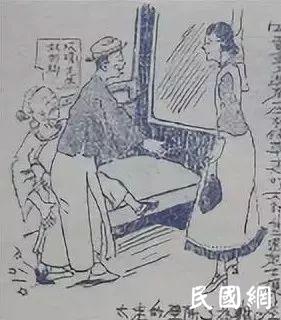 看图说话:民国漫画里的上海滩,残酷又真实